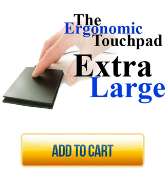 ETPA Extra Large Ergonomic Touchpad