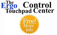 The Ergo Touchpad Control Center