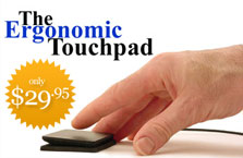 Ergonomic Touchpad