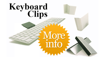 ETPA Ergonomic Touchpad Keyboard Clips