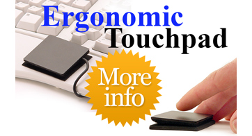 ETPA Ergonomic Touchpad