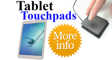 ETPA Ergonomic Touchpad for Tablets