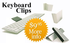Keyboard Clips