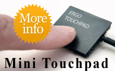 The Mini Ergonomic Touchpad