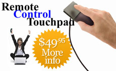 Remote Control Touchpad